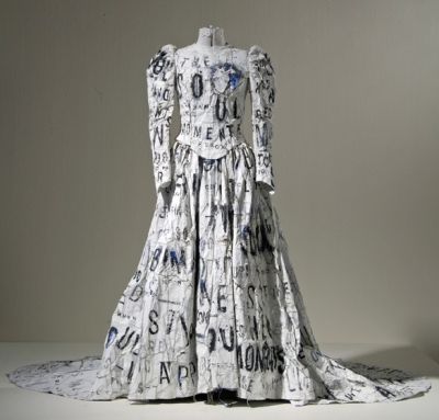 georgina-goodman-love-shoes-and-other-stories-dada-poem-weddign-dress-lesley-dill-1994